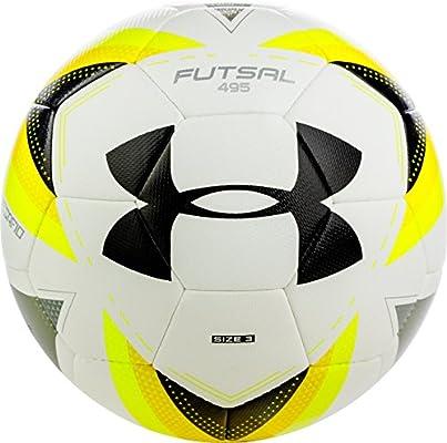 Under Armour SB 877 495 - Balón de fútbol, Color Blanco y Negro ...