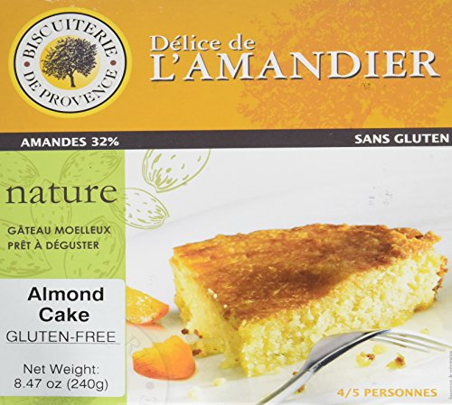 Delice de l'Amandier Provencal French Almond Flourless Cake 8.5 oz.