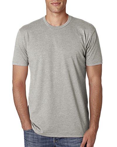 Next Level Apparel Men's CVC Crewneck Jersey T-Shirt, Silk, Small