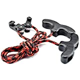 Easy Cocking Crossbow - Crossbow Cocking Device Double Handle Crossbows Rope Cocker Aid Cocking String Tool (CT021,Red)