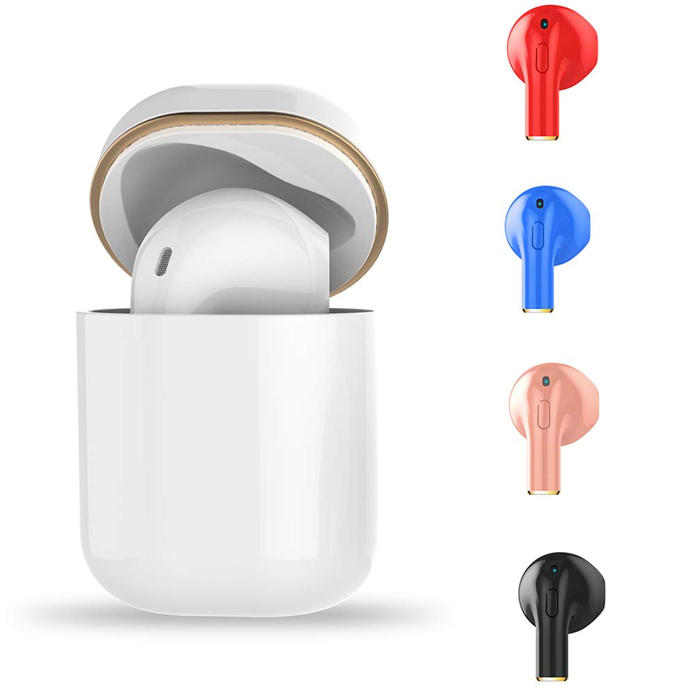 yunbox299 1Pc Bluetooth Earphone Headphone Headset Earbuds,yunboc299 Sports Single Ear Handsfree Call Music Phone Wireless Bluetooth Earphone