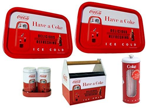 Retro Coca-Cola Utensil Holder, Salt and - Vintage Coca Cola Tray Shopping Results