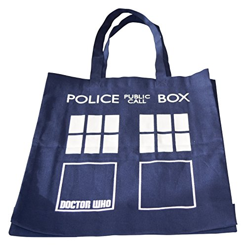 Dr Who Borsa da spiaggia, blu (Blu) - DWBG13211