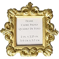 """Royale"" Gold Baroque Place Card/Photo Holder , 24"