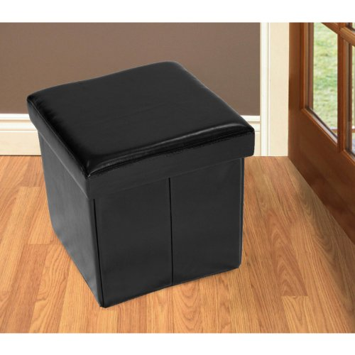 Home source industries 12843 small folding storage ottoman for Homesource furniture