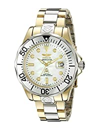 Invicta Men's 16035 Pro Diver Analog Display Japanese Automatic Two Tone Watch