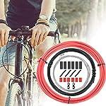 CTRICALVER-Cavi-per-cambio-bici-e-kit-di-alloggiamento-universale-set-di-componenti-di-ricambio-per-bicicletta-MTB-mountain-bike-riparazione-rosso