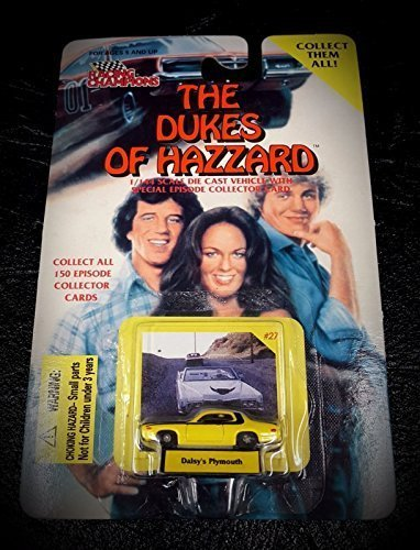 - The Dukes of Hazzard 1/144 Scale Die Cast Vehicle - Daisy's Plymouth