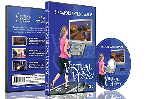 Virtual Walks - Singapore Skyline Walks for indoor walking, treadmill and cycling - Sunglasses Singapore