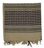 Northstar Tactical Woven Coalition Desert Scarves (Khaki/Black), Outdoor Stuffs