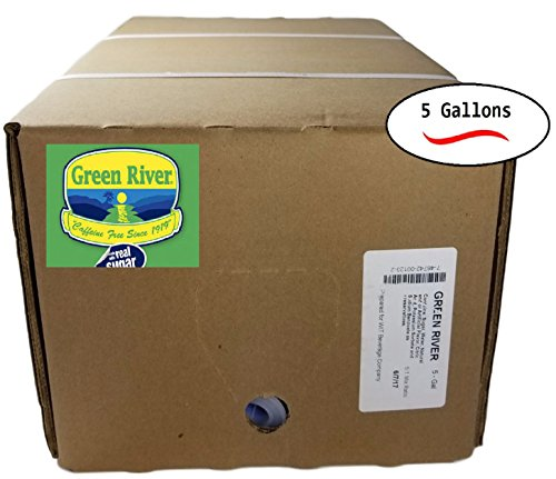 Chicago's Own Green River Soda Syrup, Makes 30 Gallons, 5 To 1 Mix (BIB) by Green River