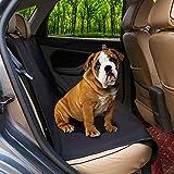 JOYELF Waterproof Car Bench Seat Cover Pets Convertible Backseat Cover Cars SUVs Trucks Pet Car Seats Safety Belts Travel Pet Bowl as Gifts