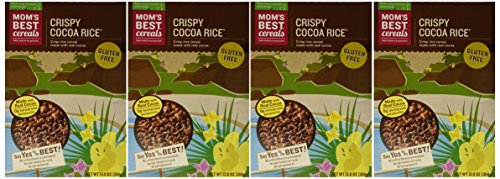 Best Cocoa - Mom's Best - Crispy Cocoa Rice - 13 oz (Pack of 4)