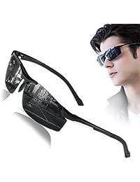 Polarized Sunglasses for Mens Womens Sports Design Anti...