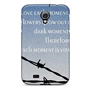 New Premium Flip Case Cover Hope Skin Case For Galaxy S4