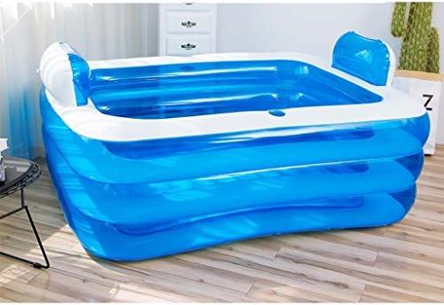Gxf - Bañera Hinchable de plástico para Adultos y niños, tamaño ...