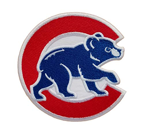 Cubs Baseball Fully Embroidered Iron On Patch InspireMe Family Owned (4.3