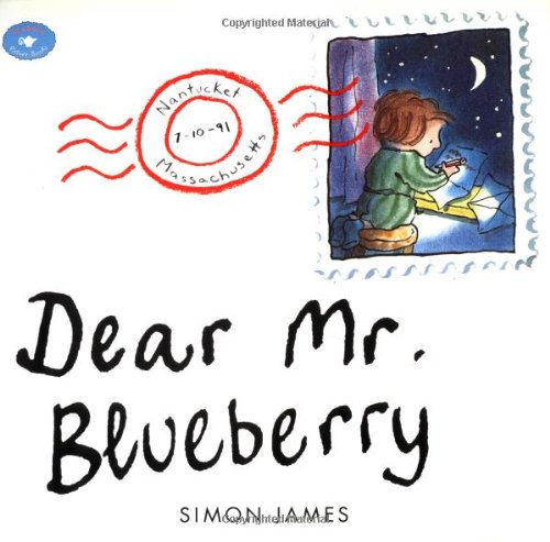 Dear Mr. Blueberry (Aladdin Picture Books) [Simon James] (Tapa Blanda)