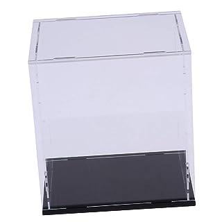 Homyl Acrylic Case Cube 13x10x20cm Showbox Perspex for Alloy Truck Models Display