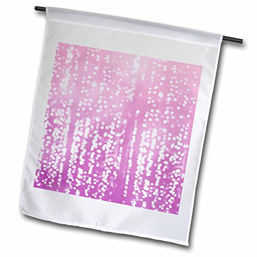 Dreamy Dots (3dRose PS Chic - Picturing Purple White Dreamy Confetti Dots - 18 x 27 inch Garden Flag (fl_270964_2))