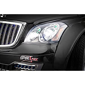SPORTrax-Maybach-Style-Luxury-Kids-Ride-On-Car-Battery-Powered-Remote-Control-wFREE-MP3-Player-Black