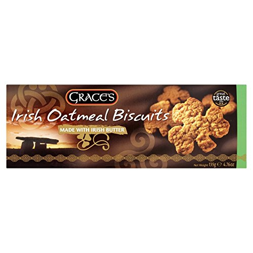 Grace's Irish Oatmeal Biscuits