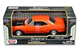 New 1:24 W/B MOTOR MAX AMERICAN CLASSICS COLLECTION - ORANGE 1969 DODGE CORONET SUPER BEE Diecast Model Car By MOTOR MAX