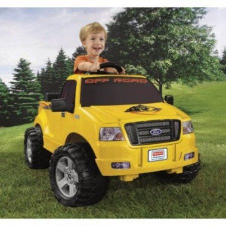 Fisher-Price Power Wheels Lil' Ford F-150 6-Volt Battery-Powered Ride-On by Essential Products