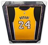 Kobe Bryant Hand Signed Autographed Yellow Jersey Framed Purple Suede Mat Panini