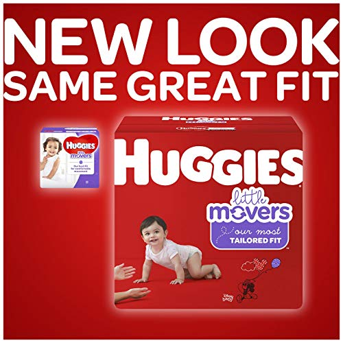 HUGGIES Little Movers Diapers, Size 5, 124 Count (Packaging May Vary) by Huggies (Image #3)