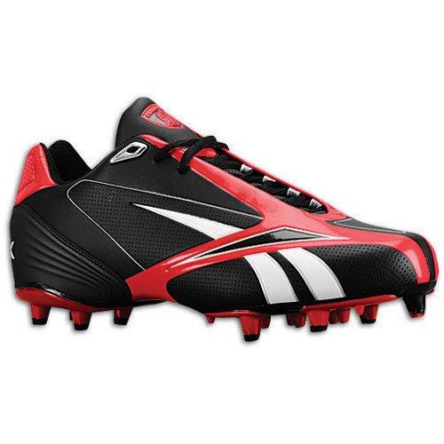 Zapatillas De Fútbol Reebok Nfl Burner Spd Iii Low M3 Para Hombre Negro / Rojo
