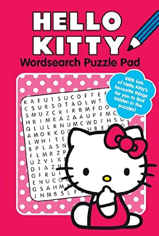 Alligator Books Hello Kitty Wordsearch Puzzle Pad 1 - Alligator Puzzle