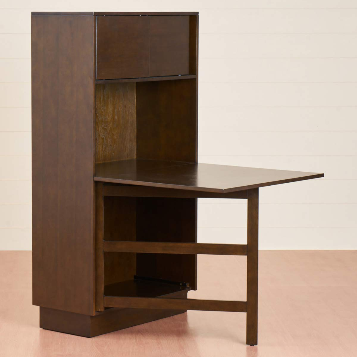 Home Centre Butterfly Kitchen Cabinet with Dropleaf Table