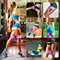 Recredo Booty bands, Non Slip Resistance Bands for Legs and Butt, Workout Bands Exercise Bands Hip Circle Bands Glute Bands for Women, 3 pack - Training Ebook Included