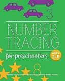 Number Tracing Book For Preschoolers: Number