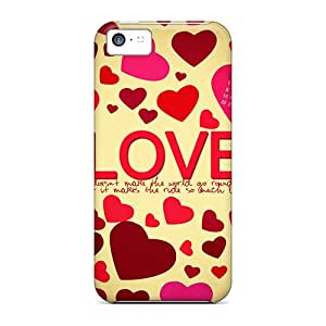 New Arrival Countless Love Hearts For Iphone 5c Cases Covers