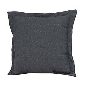 th ThresholdTM de profundidad asiento almohada cojín para la espalda, color gris oscuro