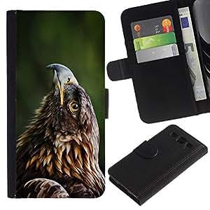 All Phone Most Case / Oferta Especial Cáscara Funda de cuero Monedero Cubierta de proteccion Caso / Wallet Case for Samsung Galaxy S3 III I9300 // Beautiful Eagle Hawk