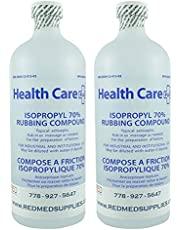 Isopropyl Rubbing Alcohol 70% USP Sterilization Solution - IPA Medical Grade Product
