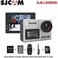 Original SJCAM SJ6 Legend 4K 30fps HD 1080P Action Camera 2.0 Touch Screen Waterproof Remote Sport DV Camera, Silver