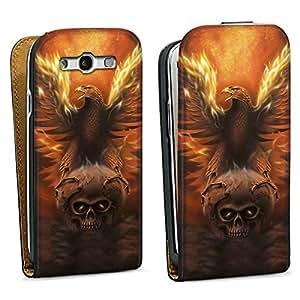 Diseño para Samsung Galaxy S3 i9300 / LTE i9305 DesignTasche black - Fated To Burn
