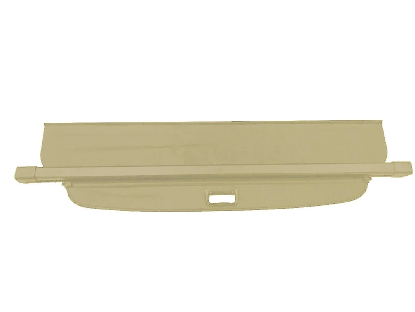 Kaungka Cargo Cover for 11-18 Jeep Grand Cherokee Trunk Shielding Shade Beige(Updated Version:There is no gap between the back seats and the cover,Not Fit for Jeep Cherokee)