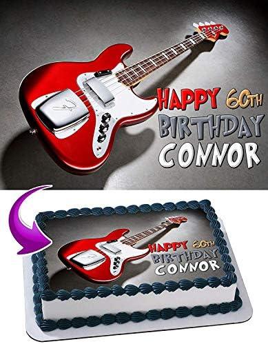 Rock Band Edible Cake Topper  Licensed 1//4 Sheet