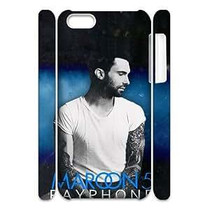 D-PAFD Diy 3D Case Adam Levine for iPhone 5C