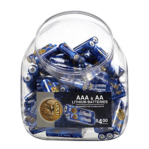 ASP Battery Bin (includes 50 AAA & 50 AA Batteries) by ASP