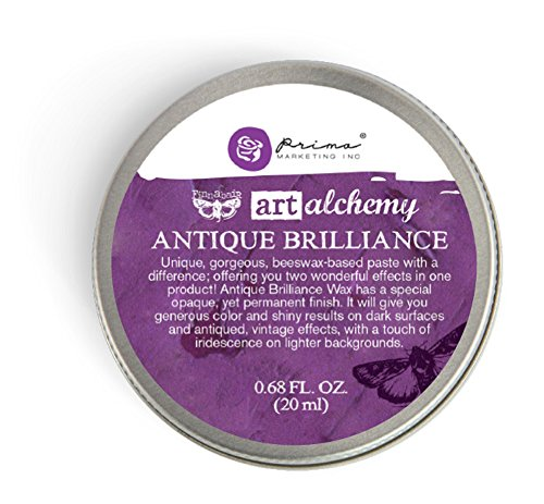 Prima Marketing Art Alchemy-Antique Brilliance Amethyst Magic (Wax Scrapbooking)