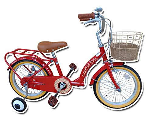 Lupinusルピナス 自転車 16インチ LP-16NKN 子供自転車 キッズバイク 100%完成車 B00VLJ8EHK チェリーレッド チェリーレッド