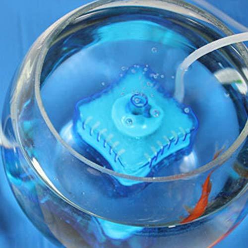 Mini Ronda Tienda Fish Tank Súper neumático Bioquímica casa de Acuario Filtro de carbón Activado Regard: Amazon.es: Hogar