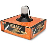 "Flukers 8.5"" Repta-Clamp Lamp with Switch for Reptiles"