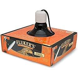 Fluker's 27000 Repta-Clamp Lamp with Switch for Reptiles, 8.5-Inch